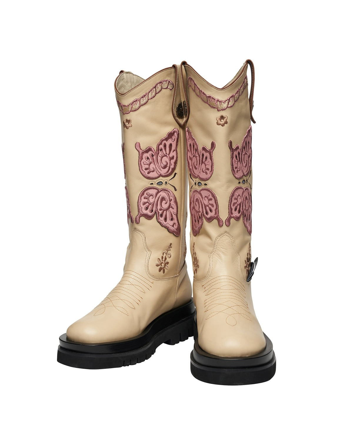 ODDONEOUT BUTTERFLY  WESTERN BOOTS_IV