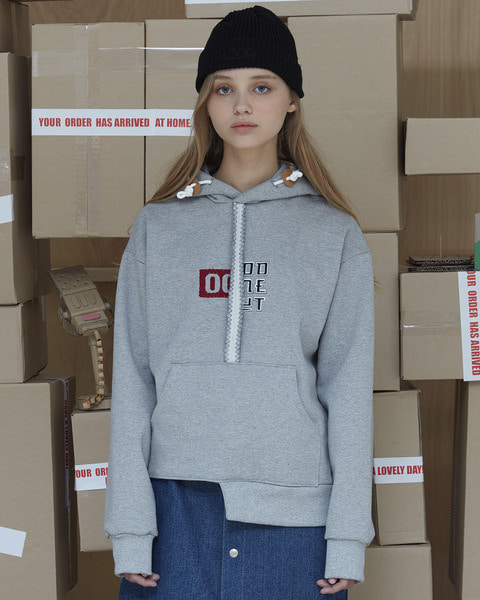 UNBALANCE EMBROIDERY SWEAT SHIRT_GREY
