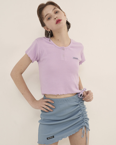 WAVE STRING CROP_PURPLE