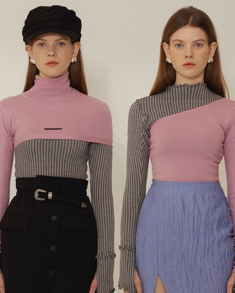 TWO WAY TURTLE NECK_PINK