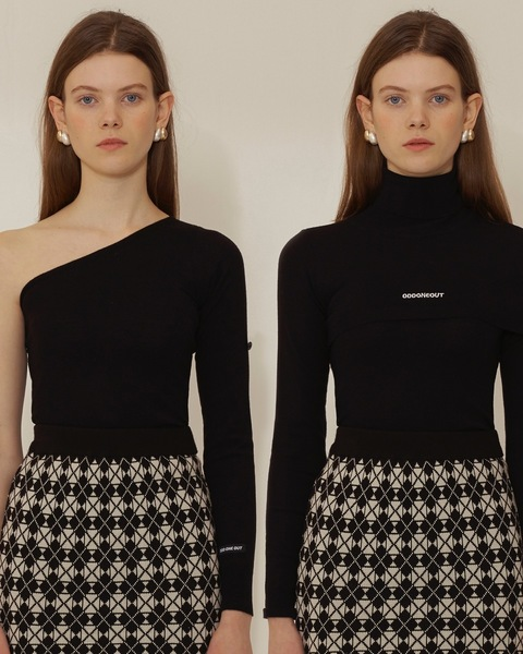 TWO WAY TURTLE NECK_BLACK